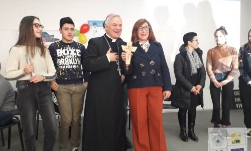 Visita speciale da Mons. Cornacchia