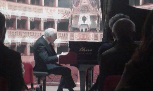 """Il M° Bruno Canino inaugura la Sala Concerti dell'""""Associazione Michele Cantatore"""""""