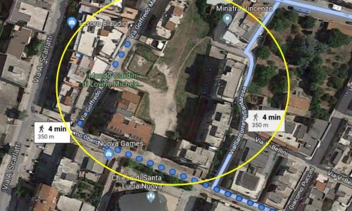 Progetto partecipato a Ruvo: riqualificazione dell'area tra via Mameli e via Oberdan