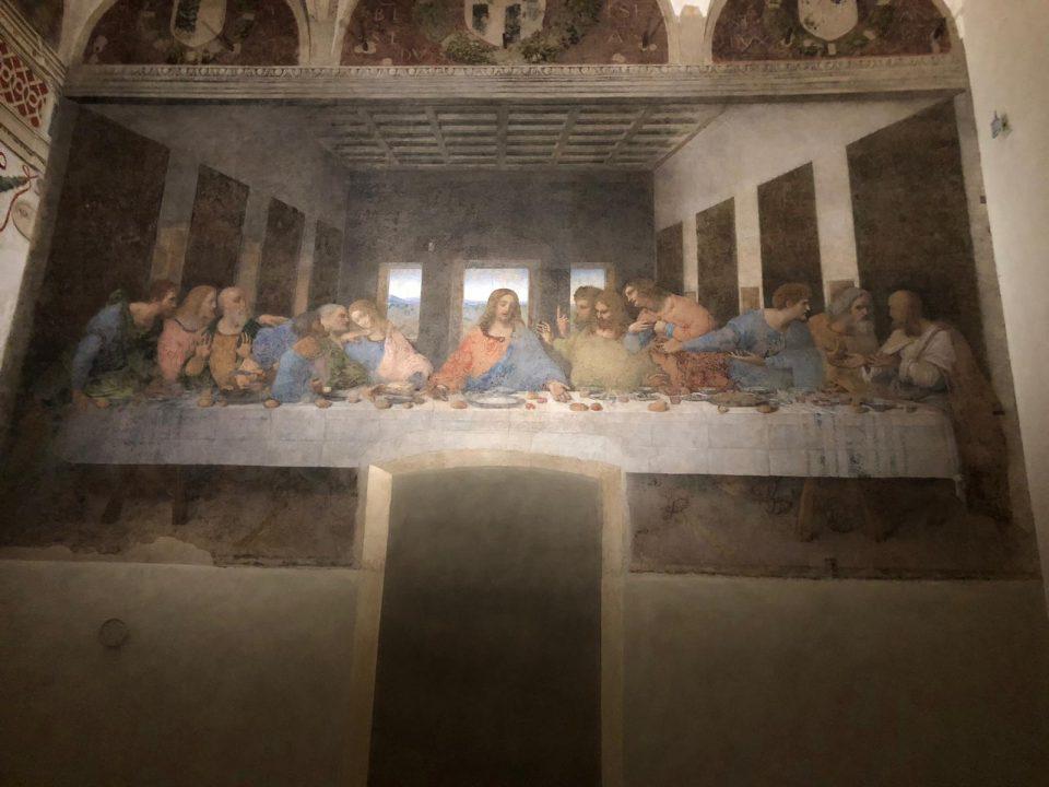 Milano Vagando L Ultima Cena Di Leonardo Da Vinci