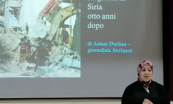 Incontro con la scrittrice italosiriana Asmae Dachan