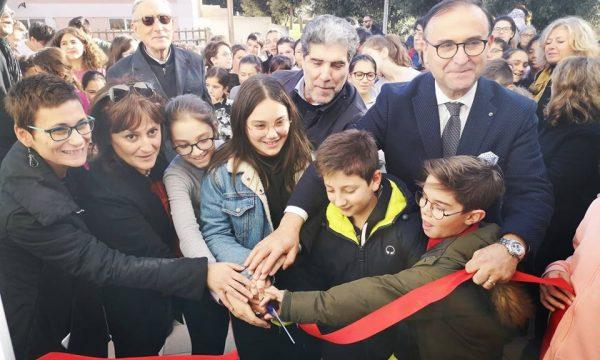 """Inaugurazione della palestra al plesso """"D. Cotugno"""". Video"""