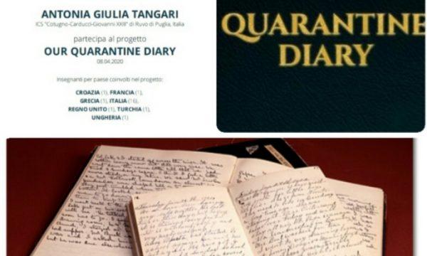 Our quarantine diary