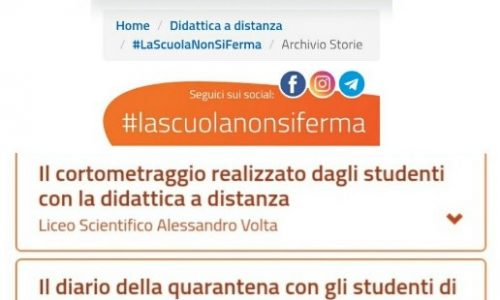 #LaScuolaNonSiFerma