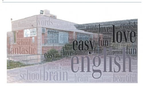 Our poems. Tag cloud in Inglese