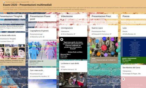 Esami di terza media: presentazioni multimediali e buone pratiche