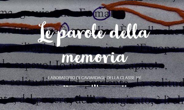 Le parole della memoria. Laboratorio Caviardage