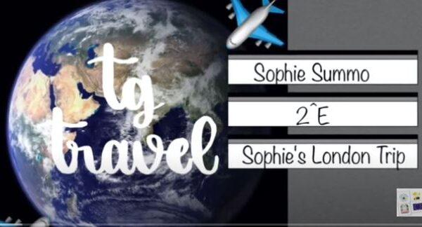Sophie's London trip. Geografia con le app